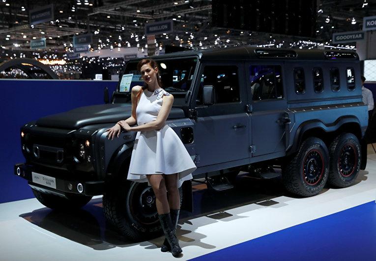 Женевский автосалон 2018