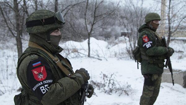 Сотрудники военной полиции ДНР. Архивное фото