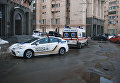 На месте избиения полицейских в McDonald's на Майдане Незалежности, 6 марта 2018