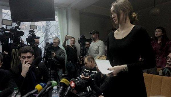 Пассажирка Lexus Алены Зайцевой Марина Ковалева