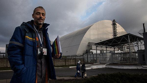 Алешандре Мартинес в Чернобыле