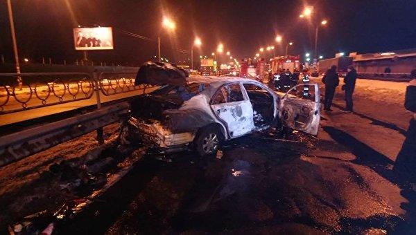 Подрыв авто в Киеве, 7 марта 2018
