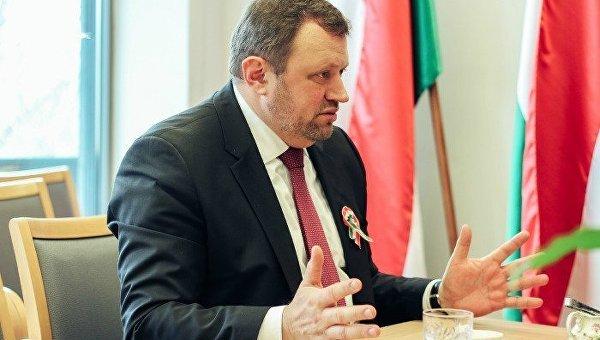 Посол Венгрии вУкраинском государстве превосходит свои полномочия— МИД