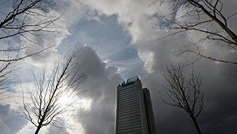 Здание ОАО Газпром в Москве. Архивное фото