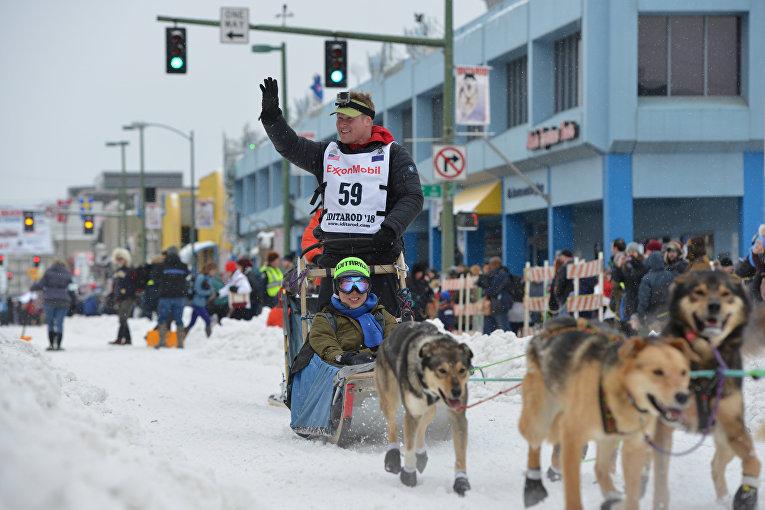 Знаменитые гонки на собачьих упряжках