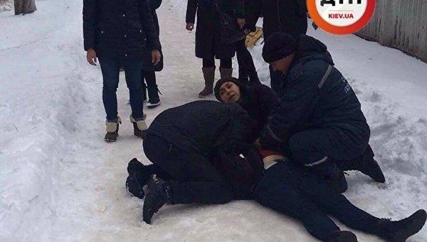 В Киеве умерла женщина