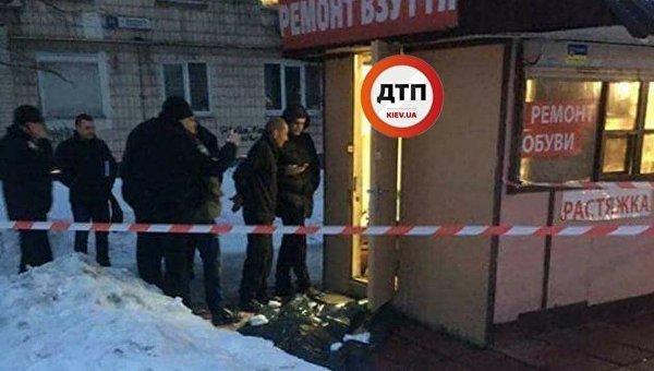 Убийство мужчины в Киеве