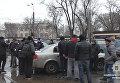 На месте стрельбы в Одессе