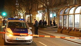 Кровавая резня в Вене. Полиция на месте происшествия