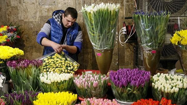 8 марта в Киеве. Архивное фото