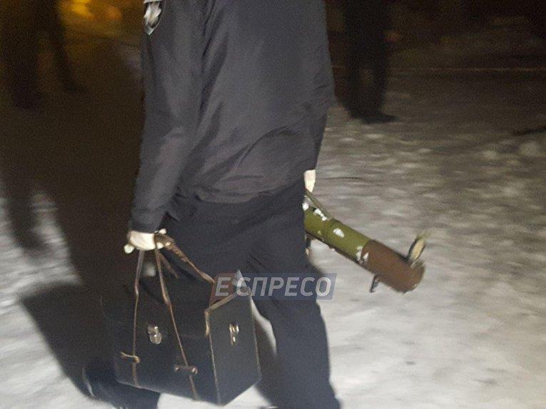 В киевский ресторан выстрелили из гранатомета
