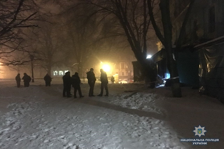 В Киеве обстреляли из гранатомета ресторан Лео