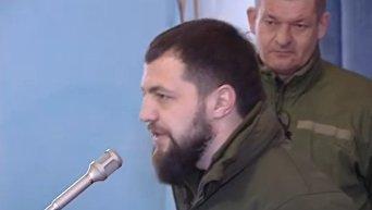 Бойцы АТО вернули Порошенко медали. Видео