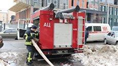 ГСЧС сообщила о пожаре в одном из киевски бизнес-центров