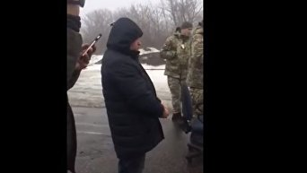 Задержание Владимира Рубана в Донбассе. Видео