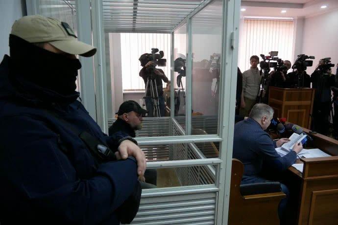 В Киеве избирают меру пресечения Рубану
