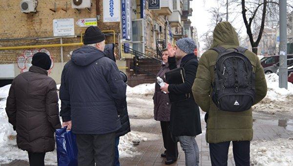На акции против застройки в центре Киева