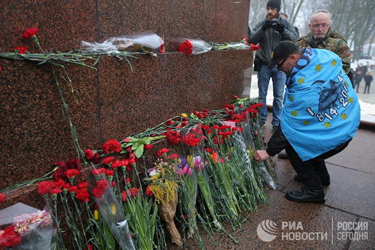 Акция сторонников М. Саакашвили в Киеве