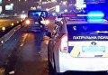 Боец Нацгвардии попал под авто, когда оказывал помощь пострадавшему в Киеве