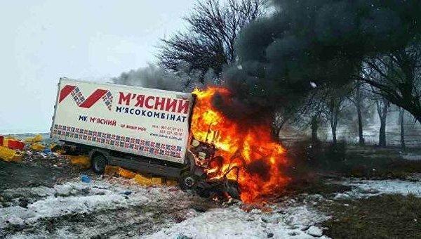 Смертельное ДТП: фургон  влетел вавтомобиль