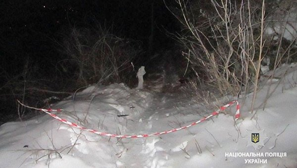 Взрыв в Полтавской области