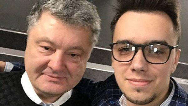 Петр Порошенко и Мирослав Олешко