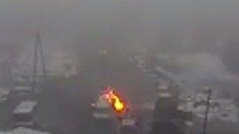 При описи оружия, изъятого у Рубана загорелся снаряд