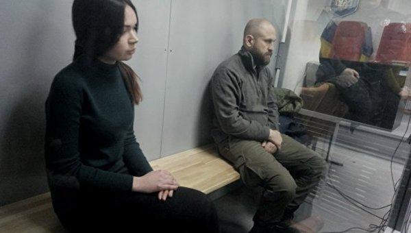 Зайцева и Дронов на суде