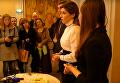 Марина Порошенко читает Заповит