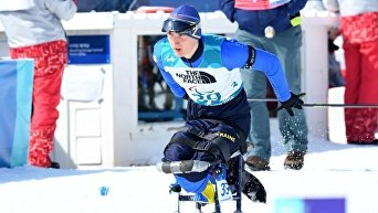 Спортсмен-паралимпиец Тарас Радь