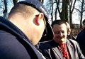 Конфликт Александра Пирожика в Польше. Видео