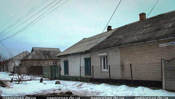 На месте резни в Павлограде