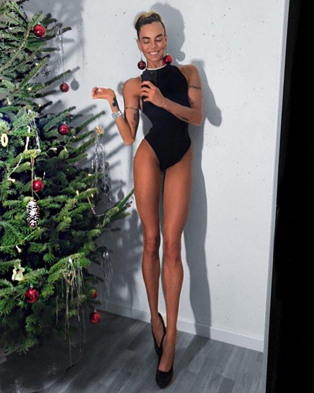Ия Остергрен фитнес-модель из Швеции
