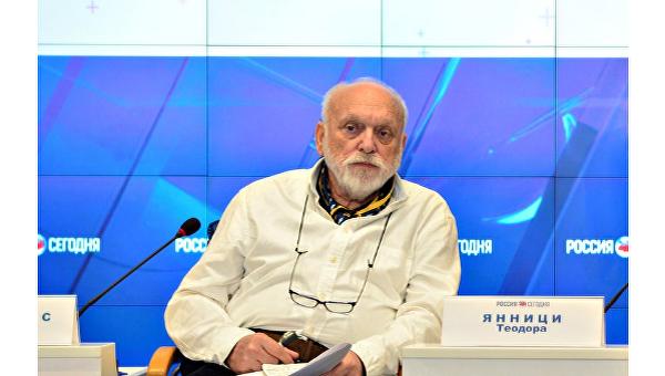 Греческий режиссер Ангелос Сидератос