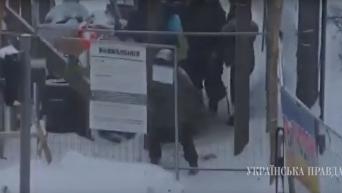 Семенченко в палаточном городке