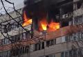 В Петербурге прогремел взрыв: часть дома охватило пламя. Видео