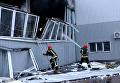 Взрывы и пожар в Киеве: ГСЧС выложила видео с места событий. Видео
