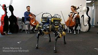 Швейцарские ученые научили робота танцевать под музыку