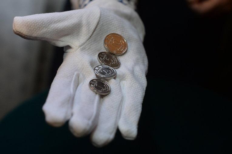 Презентация новых оборотных монет номинальной стоимостью 1, 2, 5 и 10 гривень