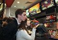 Один из первых ресторанов сети Burger King открылся в Москве