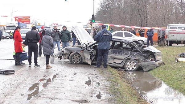 Четыре человека погибли в результате аварии в Черновицкой области Украины