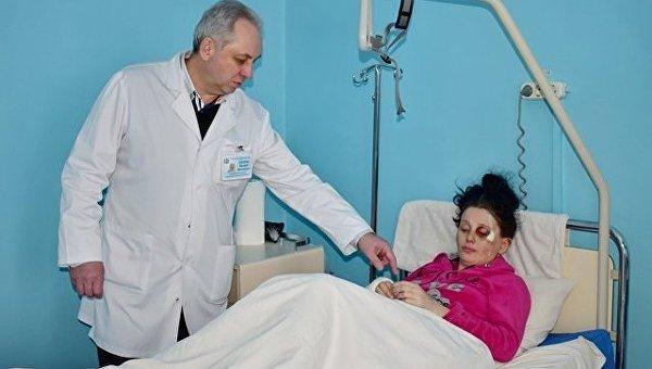 Пострадавшая беременная во время резни в Павлограде