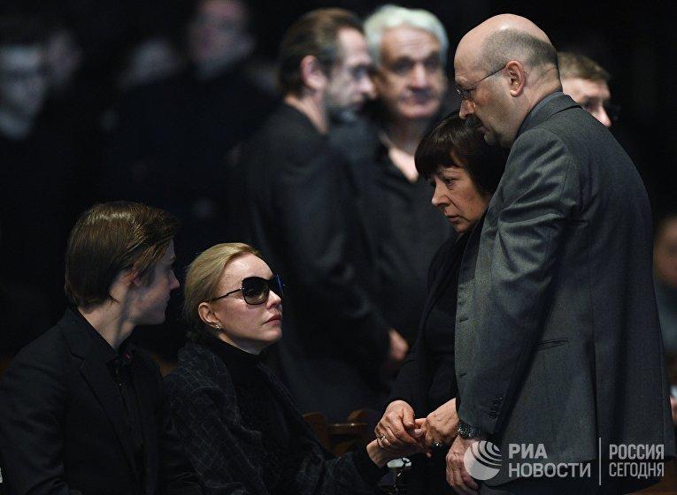 Прощание с актером Олегом Табаковым