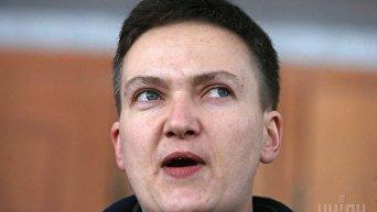 Надежда Савченко прибыла на допрос в СБУ