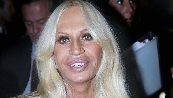 Директор дома Versace Донателла Версаче
