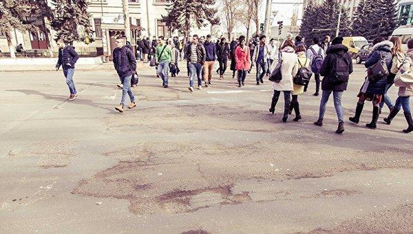 Улица Кишинева. Архивное фото