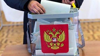 Досрочное голосование военнослужащих в Севастополе. Архивное фото