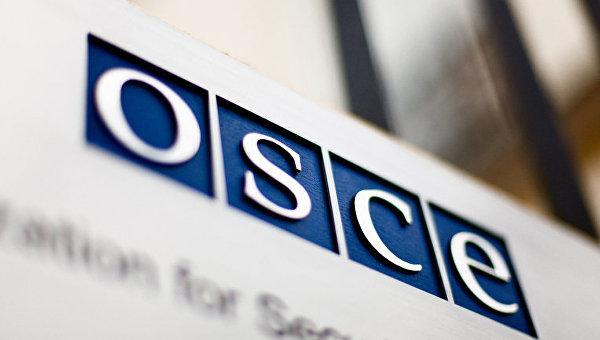 Логотип ОБСЕ. Архивное фото