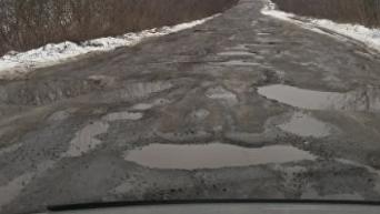 Дорога в Сумской области
