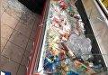 В Киеве разгромили магазин